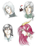 Contest Winners Sketch Portraits by CristianaLeone