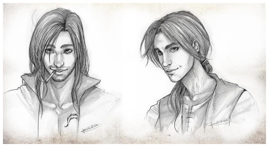 Hatim and Edward by CristianaLeone