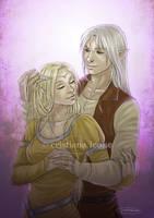 Eden and Xavian by CristianaLeone
