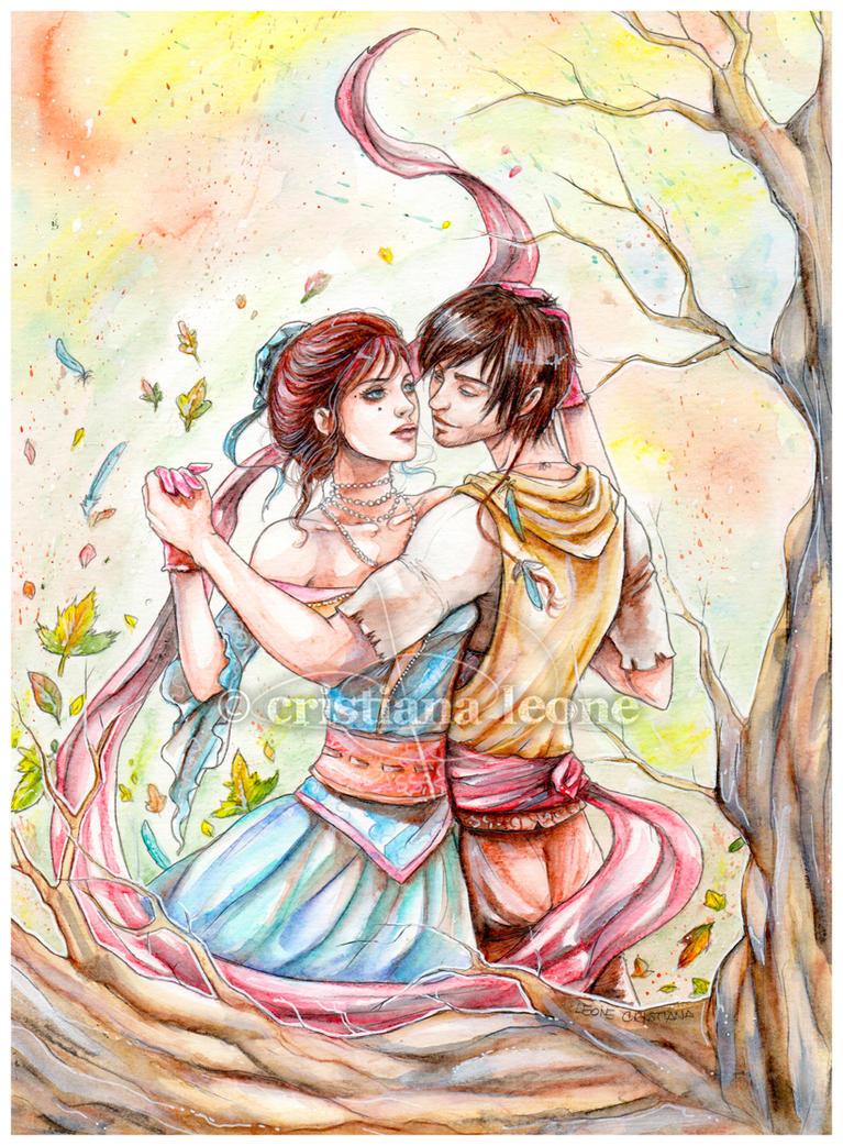 Autumn dance by CristianaLeone
