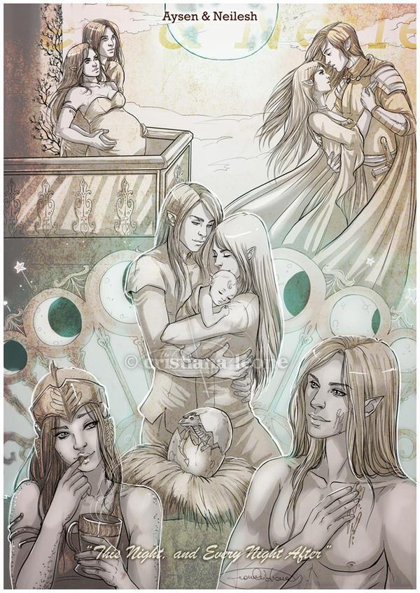 Lovesheet - Aysen and Neilesh by CristianaLeone