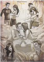 Lovesheet - Megan and Trevor by CristianaLeone