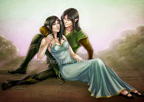 Aysen and Neilesh by CristianaLeone