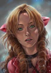 Aerith by CristianaLeone