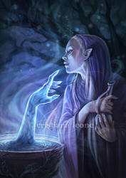 Galadriel - Lure of Power by CristianaLeone