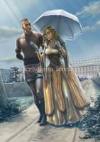 Alva and Ragnar by CristianaLeone