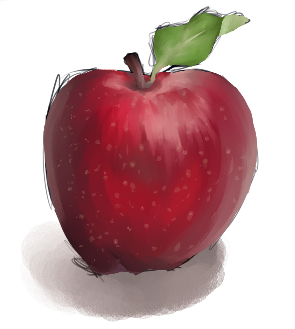 An Apple by Arianaca