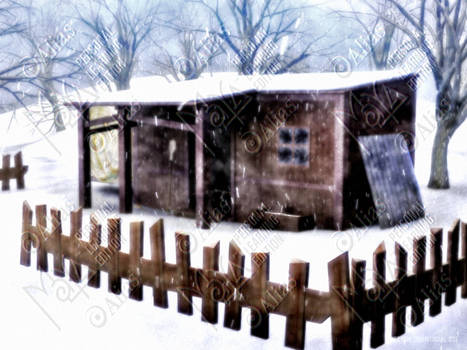 Hut Winter