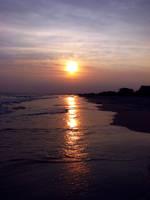 Evening At The Beach by ISeeMyWorldInACamera