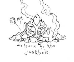 Welcome to the Junkhole by UrusaiWrangler