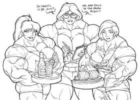 Working Girls by UrusaiWrangler