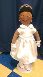 female singer Selowani la nouba doll