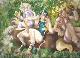 unicorn trio
