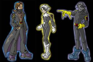 xmen evo fan characters by RollerBoyjeremy