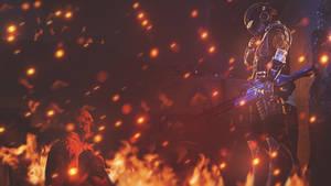 Mass Effect Background - The cost of war [SFM] by Mrjimjamjamie