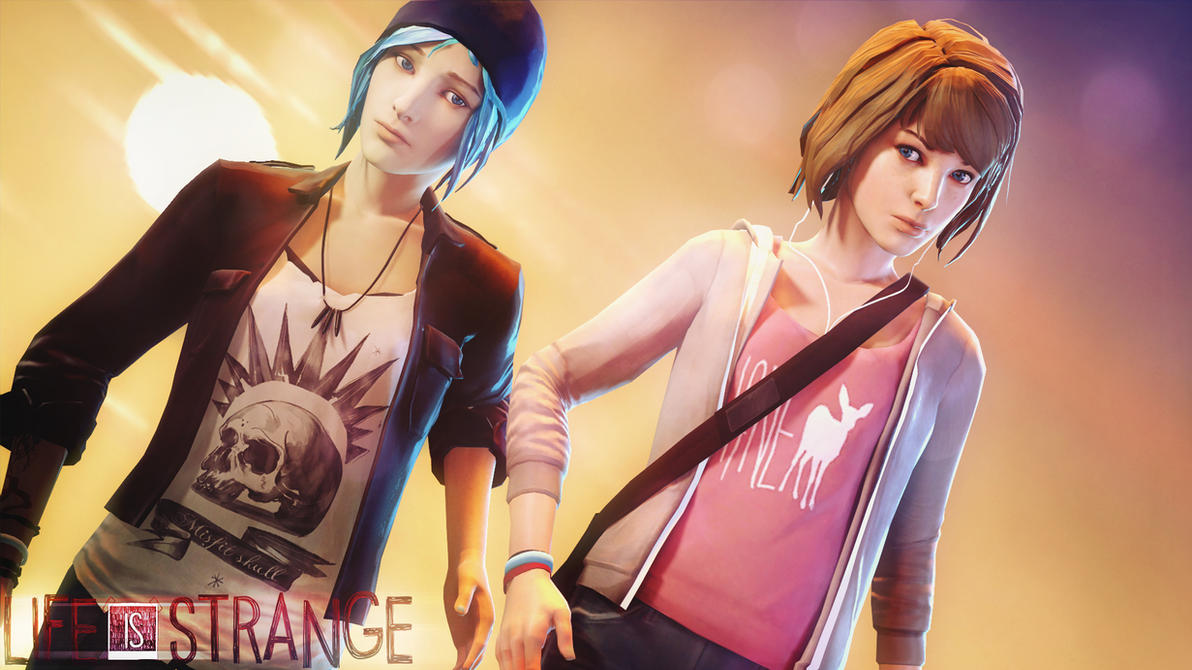 Life is strange - Max and Chloe Sunset  [SFM] by Mrjimjamjamie