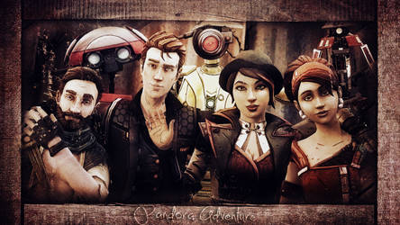 Tales from the borderlands Pandora Adventure V2
