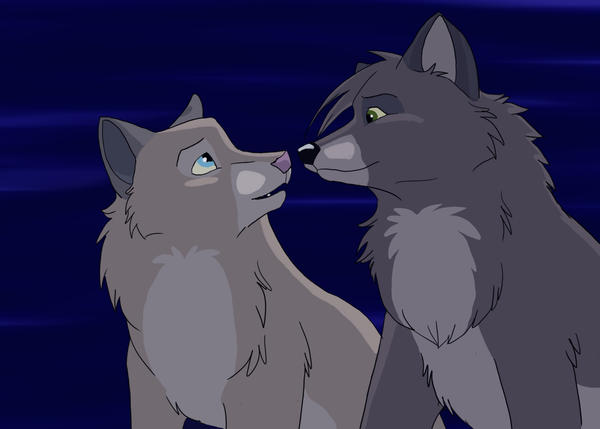 Gay anime wolf love - Anime wolves in love ...