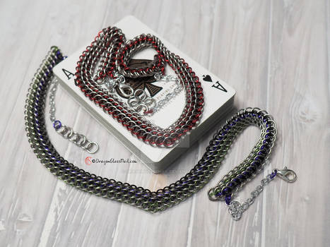 Eerie Chrome Necklace / Dragonscale