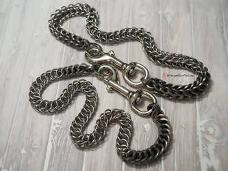 Chainmaille Industrial Necklace