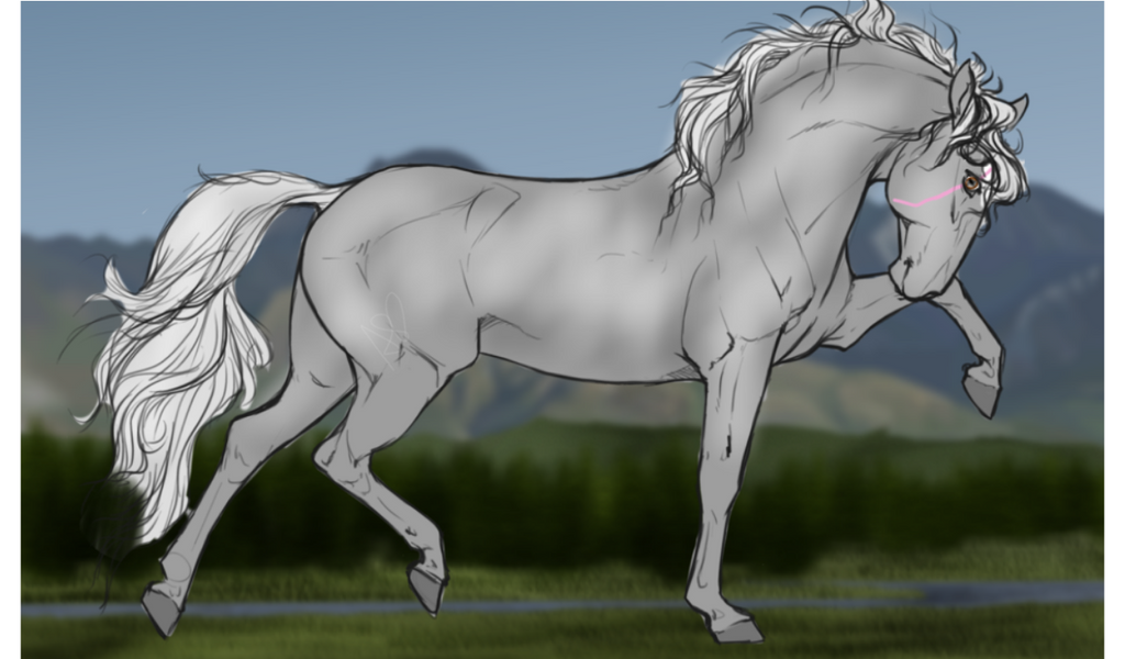 DIRPG|Leo| Lead Stallion by Tobuscusfangirl16