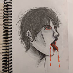 vampy sketch