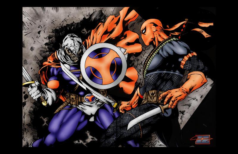 Deathstroke Vs Deadpool Wallpaper 4025
