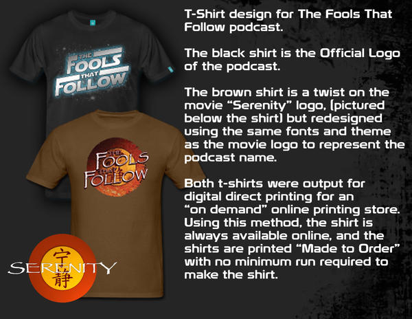 TFTF T-Shirts by Jake-Townsend