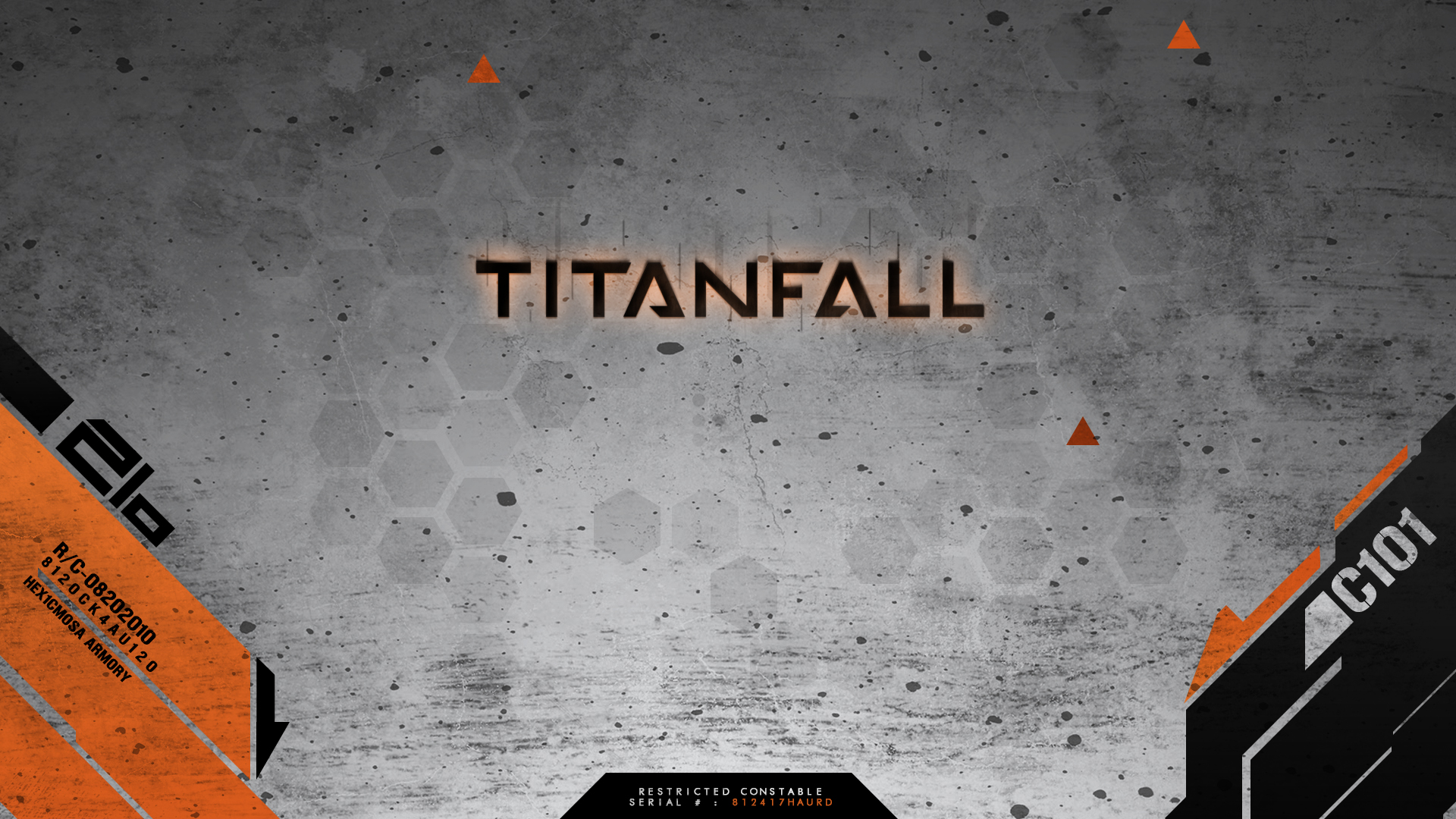 Titanfall Dirty Wallpaper HD by solidcell
