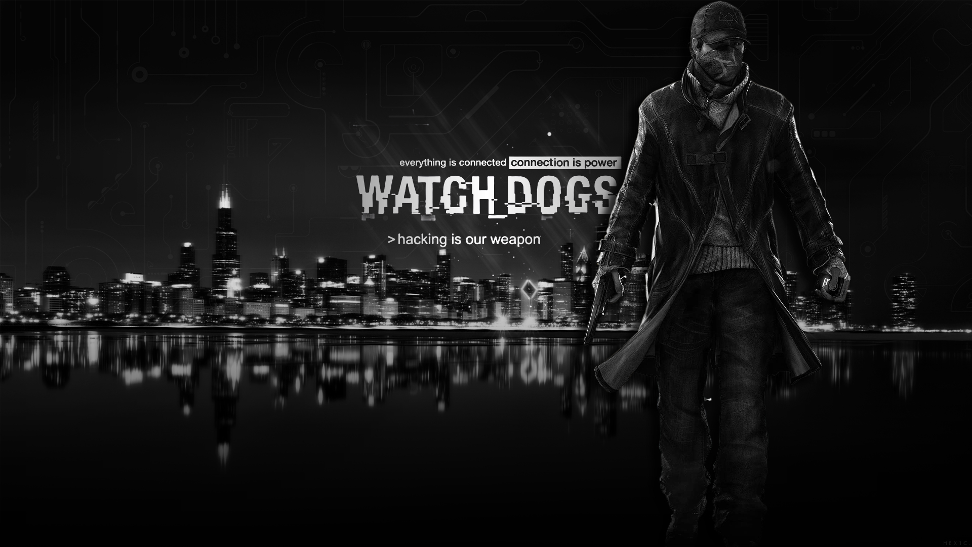 watch dogs wallpaper hd by solidcell customization wallpaper science