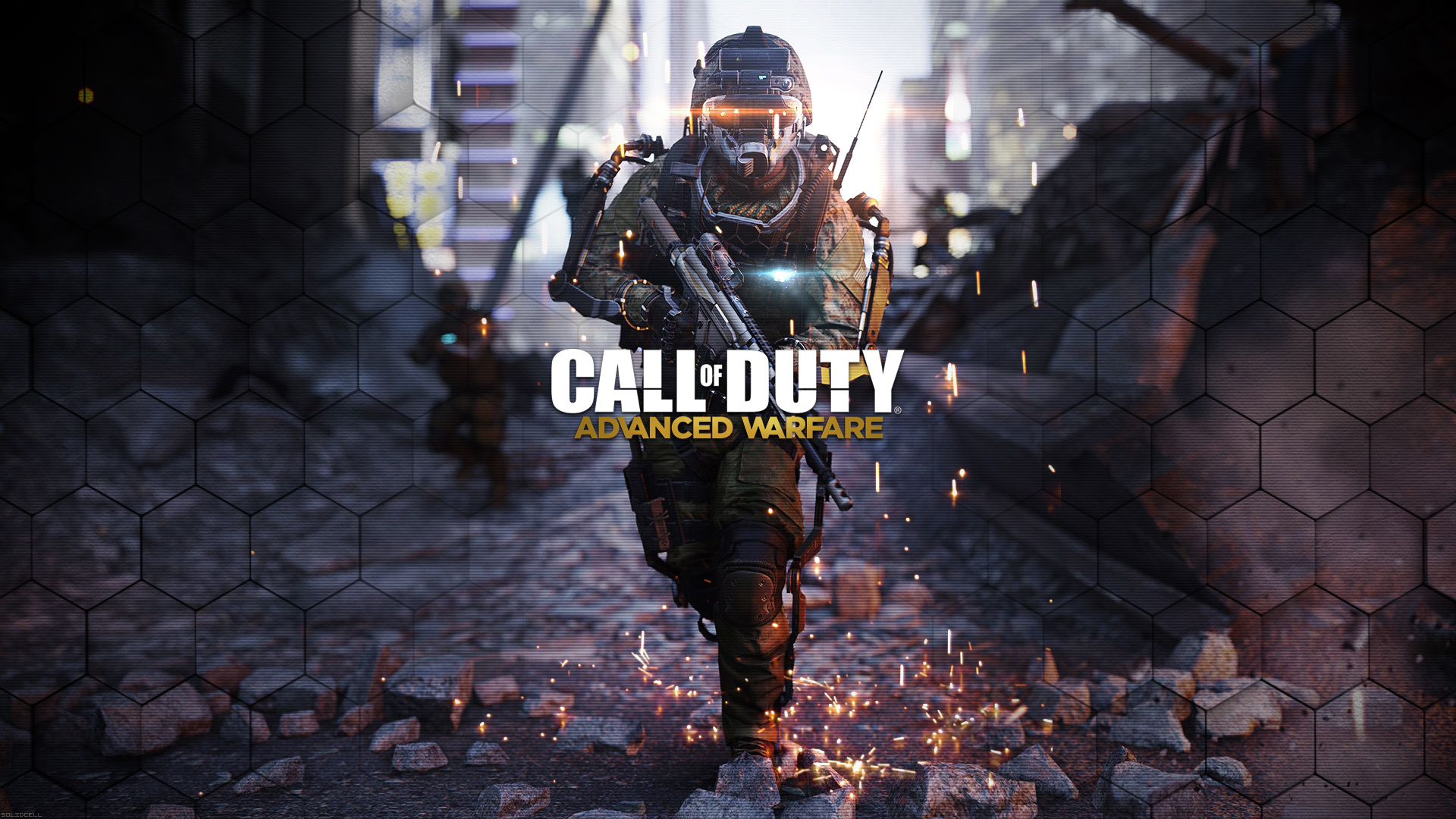 Call Of Duty Advanced Warfare Hd Wallpaper By Solidcell On