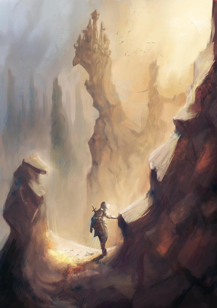 Roguelike Game illustration by Izarian-Hanar