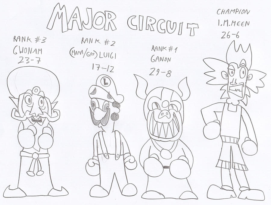 ytp punch out major circuit by bombot on deviantart