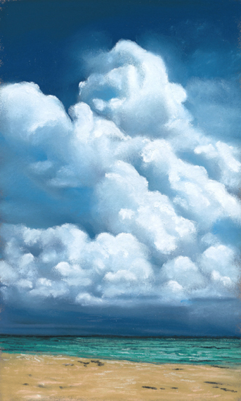 daily painting cloud study