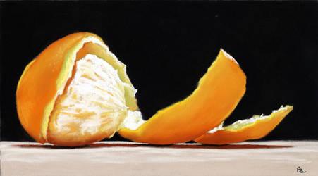 Orange Spiral by classina