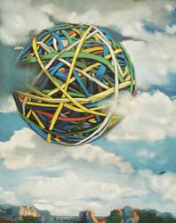 rubberband ball by classina
