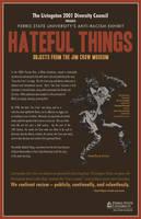 'Hateful Things' Poster by ajferrara41