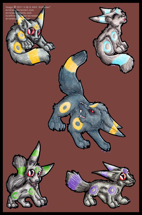 Umbreon 2011 by AirRaiser