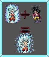 Fan Fuse: Goku UI (DBS) X Goku SSJ4 (DBGT)