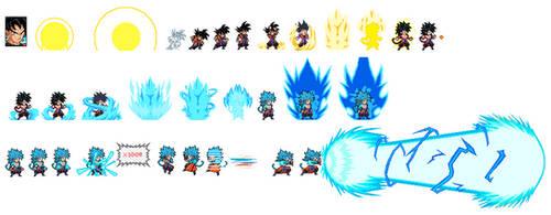 Ulsw: Merge Goku Super Saiyan Blue 4 by Bite035