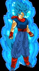 Burning Power (Mastered) Super Sayain Blue Byte