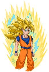Ssj3 Goku (Redesigh)
