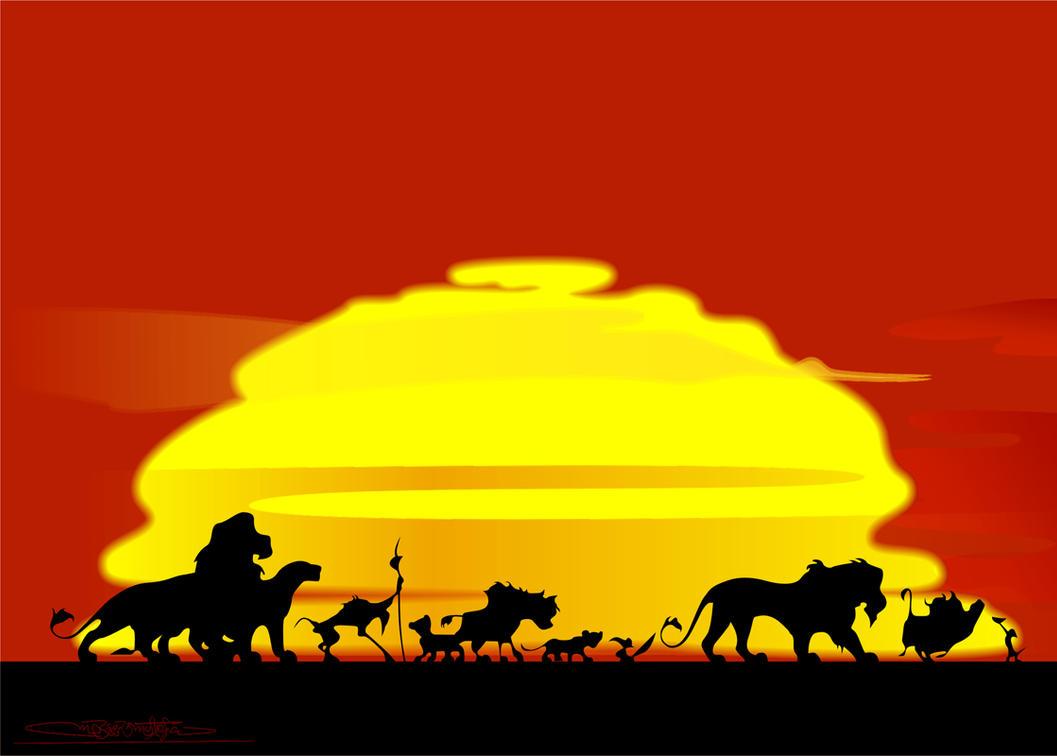 lion king by oufve on deviantart