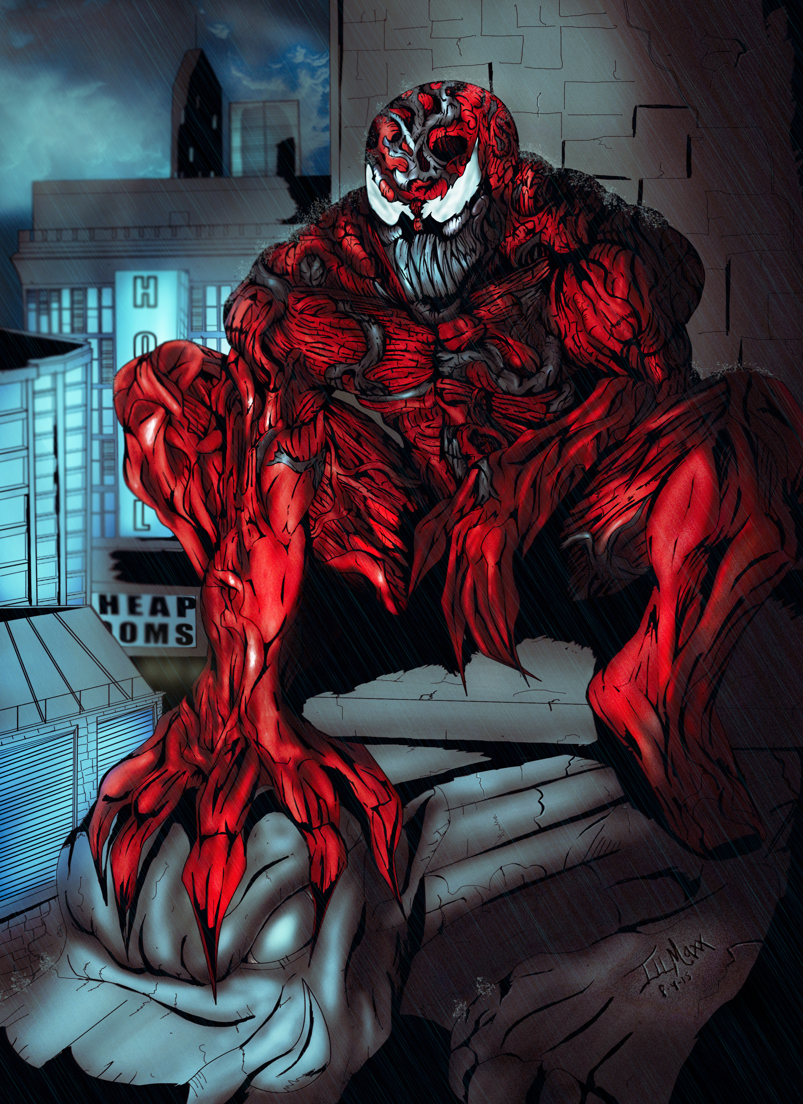Marvel Comics: Carnage by @Inceptivision by inceptivision ...