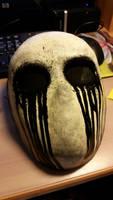 Alt. Eyeless Jack Mask by LimboTheLost