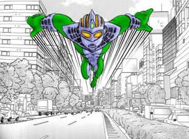 Ultraman Defender W.I.P.
