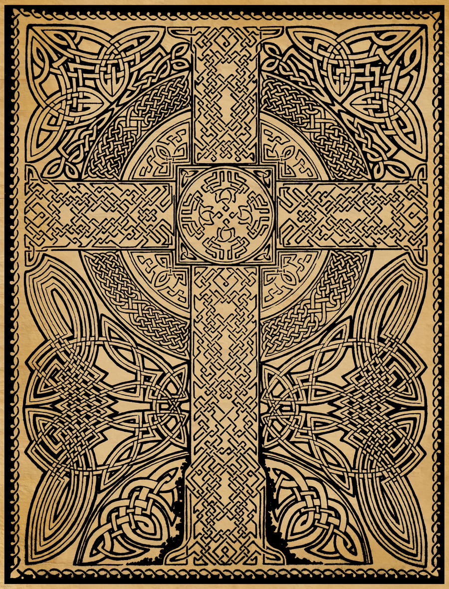 Celtic Cross Kitchen Wall Plaques
