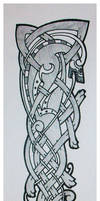celtic wolf tattoo quickie