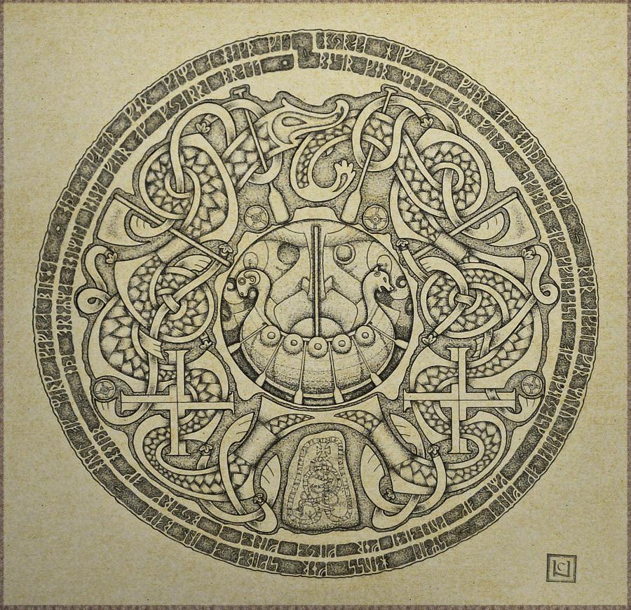 Norse Art viking art - Movie Sea...