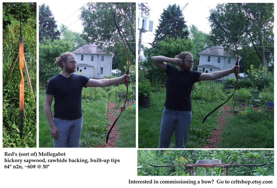 Red's (sort of) Mollegabet longbow by one-rook